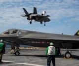 Five F-35Bs Begin Shipboard Testing
