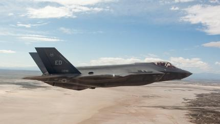 Edwards AFB Squadron Tests Missile for European Ally's F-35