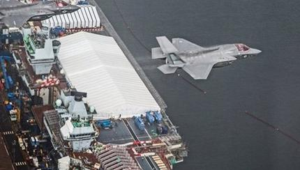 US F-35Bs to Fly on UK Carriers