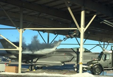 Frigid Temps Can't Freeze F-35 Ops at Hill AFB