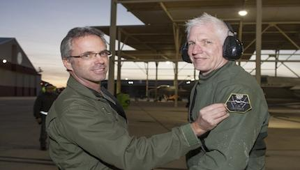 Edwards Test Pilot First to Reach 1,000 Flight Hours in Joint Strike Fighter