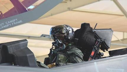 F-35's First B-Course Takes Flight