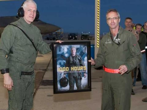 First F-35 Pilot to Reach 1,000 Hours