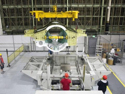 Lockheed Martin Delivers 200th F-35 Center Wing Assembly From Marietta Facility