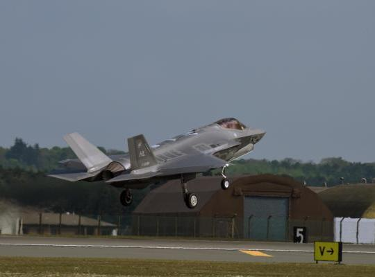 F-35 Completes First European Training Deployment
