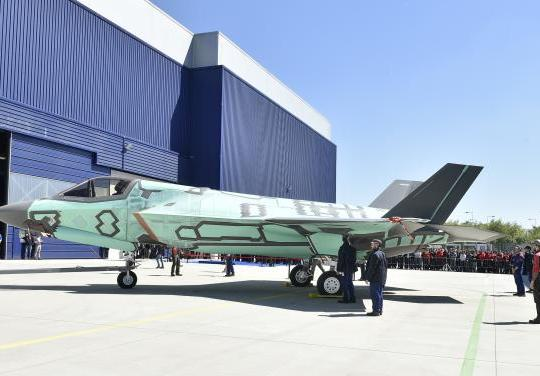 First Italian-Built F-35B 'Rolls Out' of Cameri Production Facility