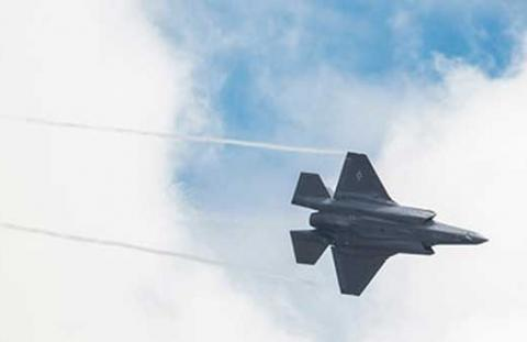 F-35A Aerial Demonstration Takes Center Stage at World's Largest Air Show