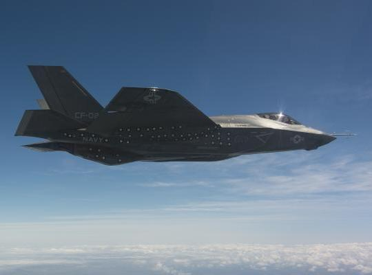 F-35C Clean Wing