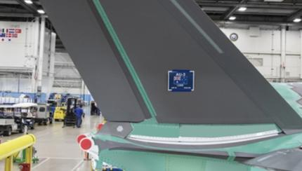 Australian-Made Tail Installed on Australian F-35A Fighter