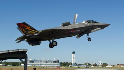 "F-35B In ""Third Day Of War"" External Weapons Load Configuration Demonstrates Ski Jump Launch in U.S."