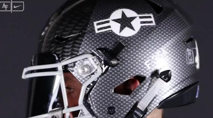 Air Force's Sweet New Football Helmets