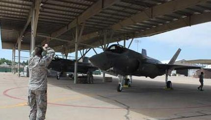 New F-35A Squadron Stands Up at Hill
