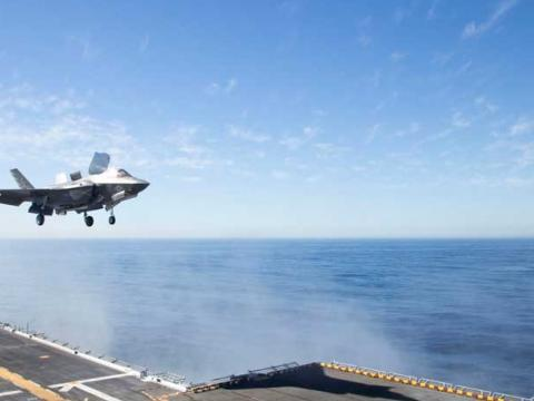 F-35B Participates in Exercise Dawn Blitz