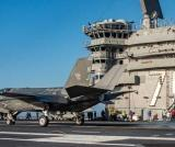 USS Carl Vinson Conducts F-35C Flight Operations