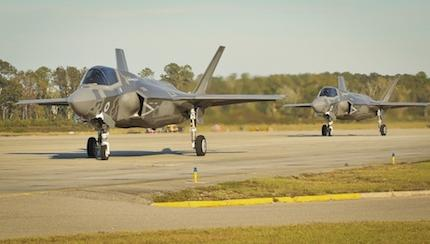 F-35B Lightning II Trains With ATAC
