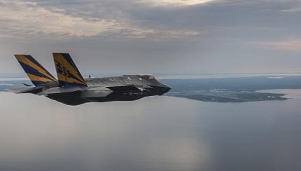 U.S.Navy's Newest Fighter Jet F-35C