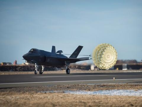 How it works: F-35A Drag Chute System