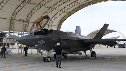Wheels Up: U.S. Navy Strike Fighter Squadron 147 'Argonauts,' Execute First F-35C Flight