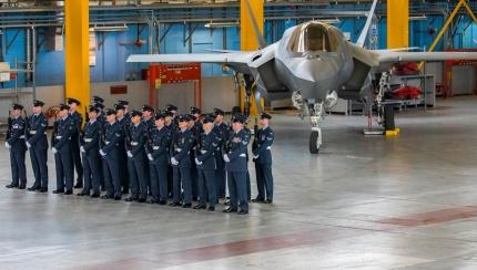 617 Squadron, 'The Dambusters', Presented with a New Standard