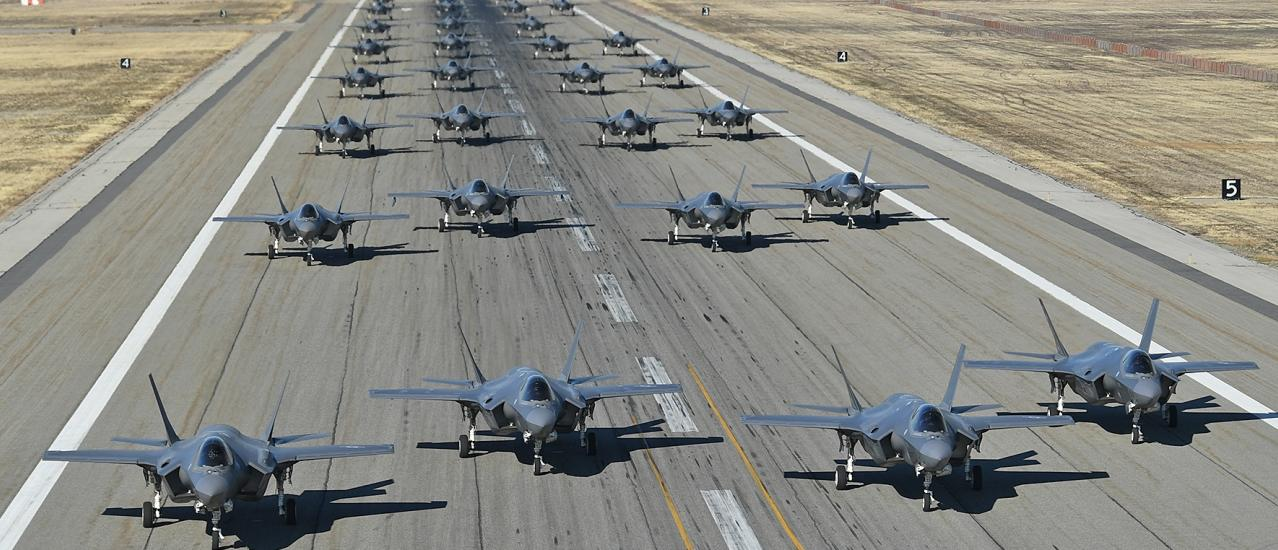 F-35A Combat Power Exercise Conducted at Hill AFB