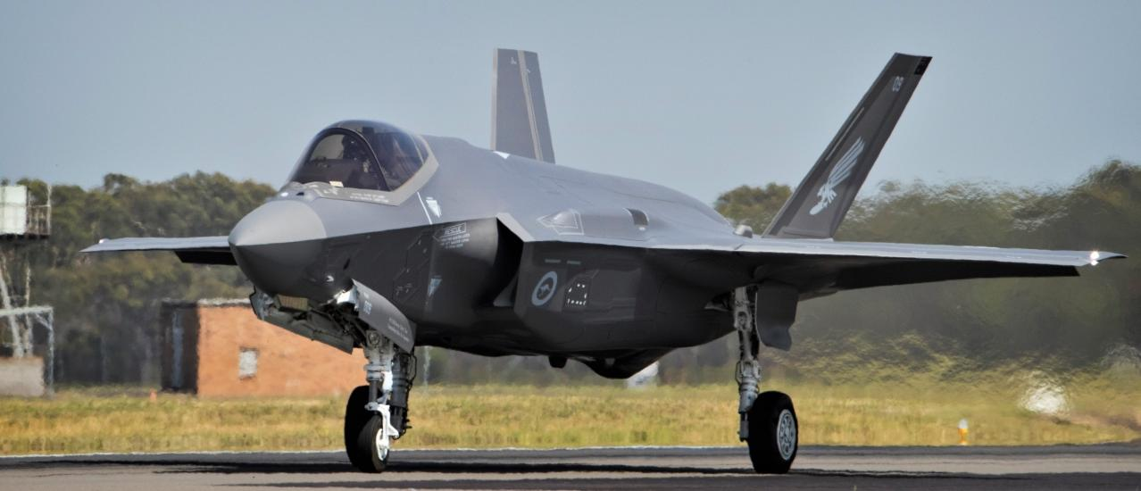 Australia's First F-35s Arrive Home To RAAF Williamtown Heralding New Era For The Australian Defence