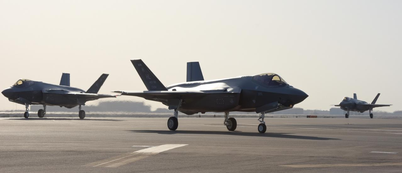 U.S. Air Force's F-35A Lightning II Arrives for First Middle East Deployment
