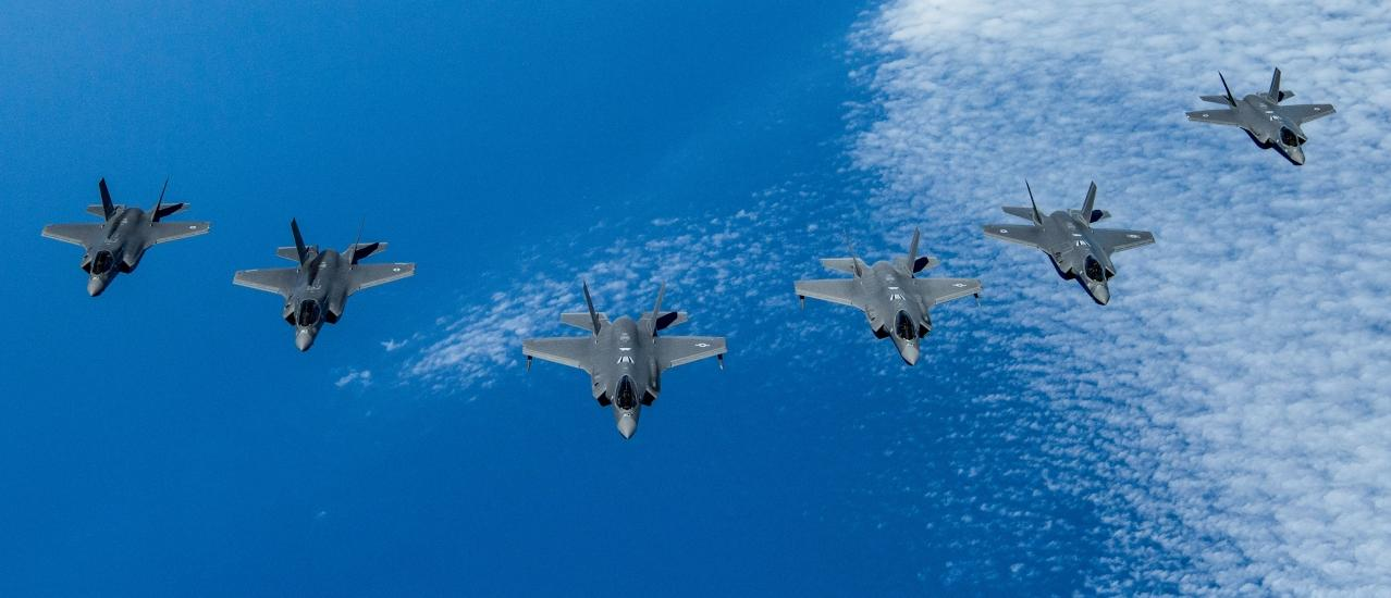 Three-nation F-35 Exercise Demonstrates Air Power Interoperability