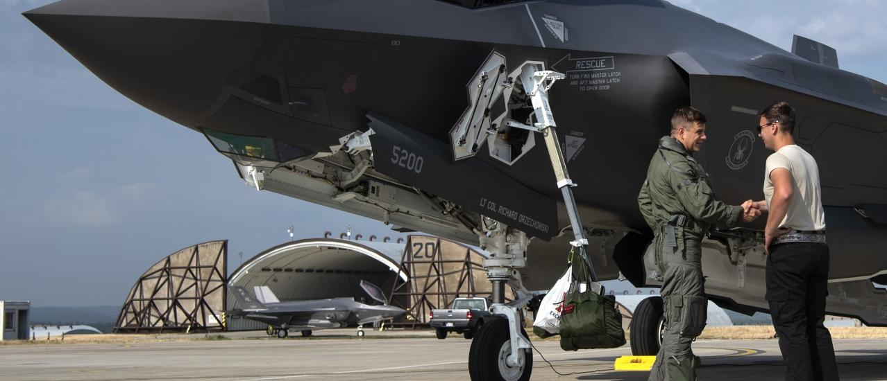 Hill Airmen Expand F-35A Combat Capability in Rapid Forge