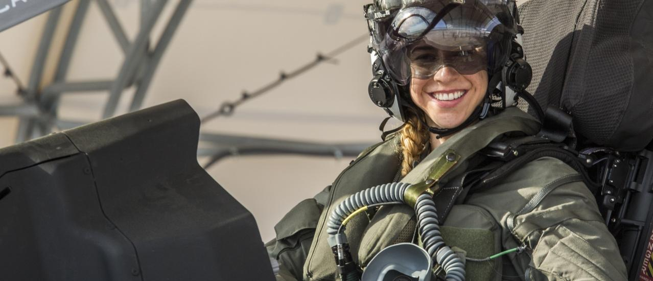First Female F-35B Pilot