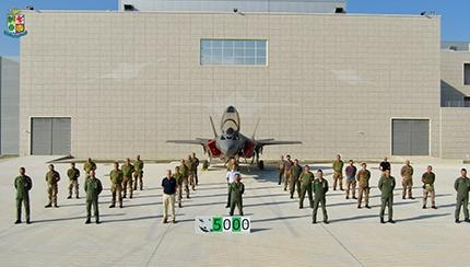 5,000 Flight Hours for the Italian F-35As of the 32nd Wing
