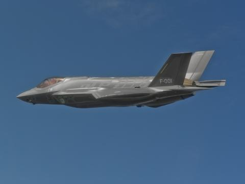 First Flight for Netherlands' First F-35